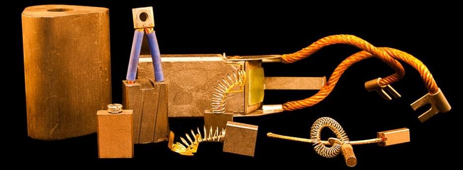 Escobillas Aplicaciones / Motores Eléctricos